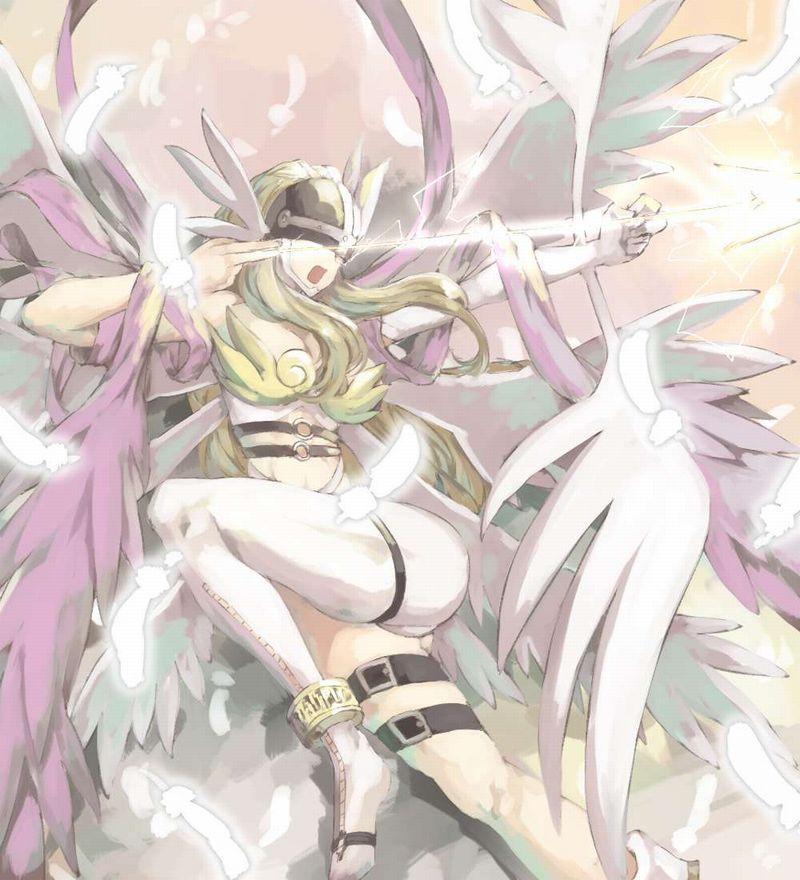 【デジモン】エンジェウーモン(Angewomon)のエロ画像【22】