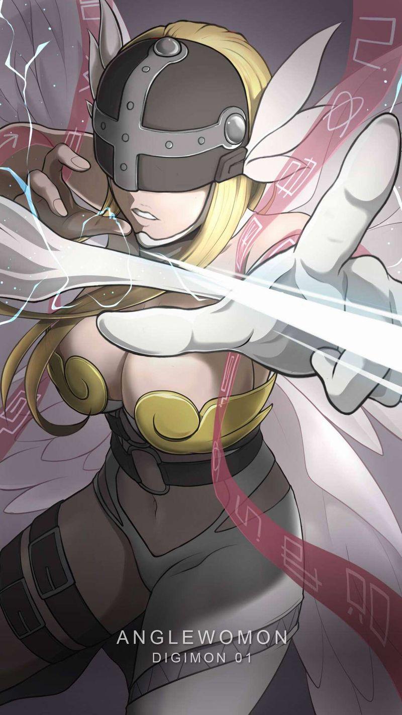 【デジモン】エンジェウーモン(Angewomon)のエロ画像【29】
