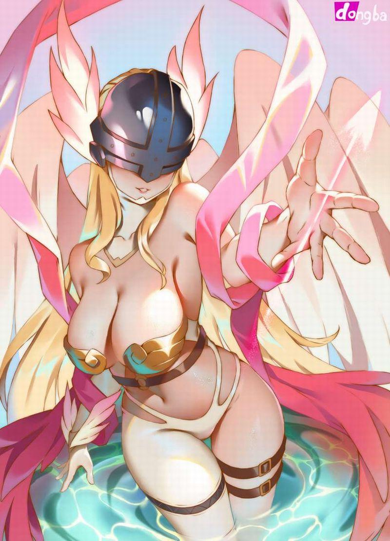 【デジモン】エンジェウーモン(Angewomon)のエロ画像【36】