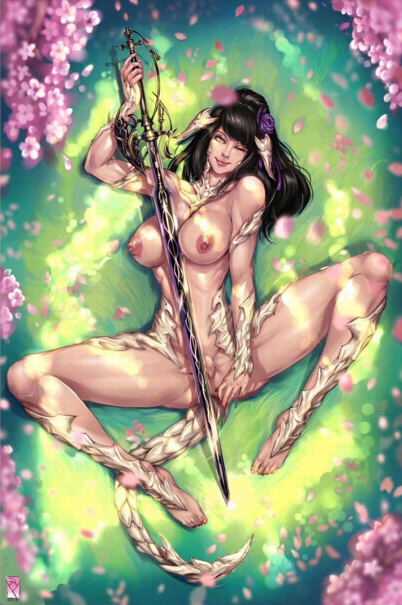 【花より男根】満開の桜の下でマン開する女子達の二次エロ画像【12】