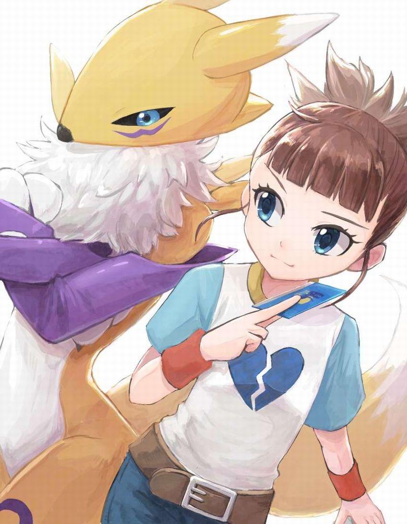 【デジモンテイマーズ】牧野留姫(まきのるき)のエロ画像【42】
