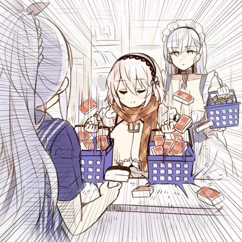 【サガミ】コンドームの箱を手にした女子達の二次エロ画像【オカモト】【31】