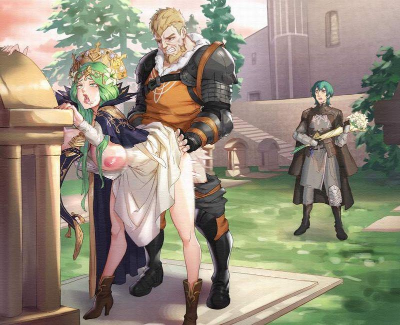 【快楽堕ち】チンポに負けた女戦士・女騎士の二次エロ画像【アヘ顔】【26】