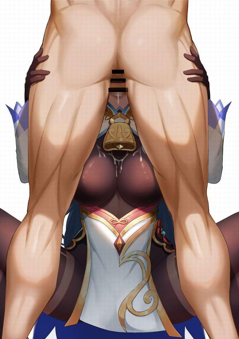 【原神】甘雨(かんう)のエロ画像【5】