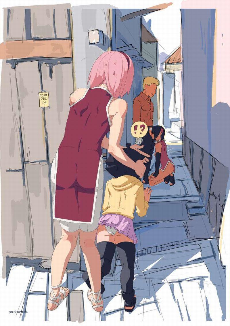 【BORUTO】春野サクラ(うちはサクラ)のエロ画像【32】