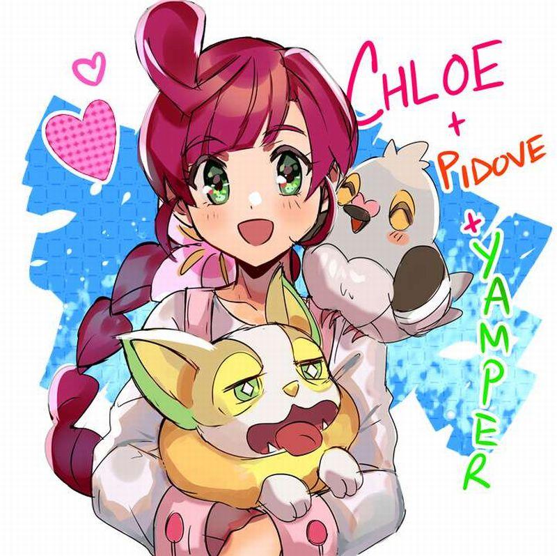 【ポケモン】サクラギ・コハル(Chloe)のエロ画像【アニポケ】【22】