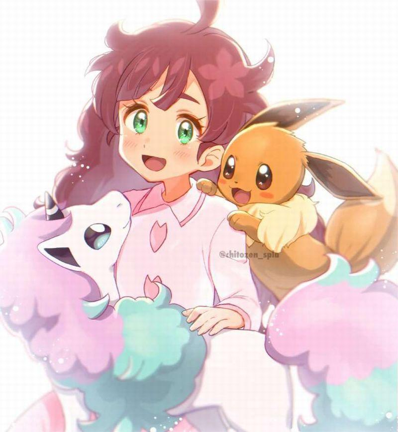 【ポケモン】サクラギ・コハル(Chloe)のエロ画像【アニポケ】【30】