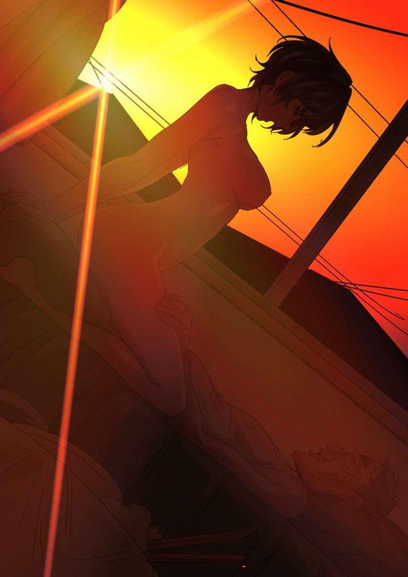 【なんか芸術的】夕焼けをバックにセックスしてる二次エロ画像【3】