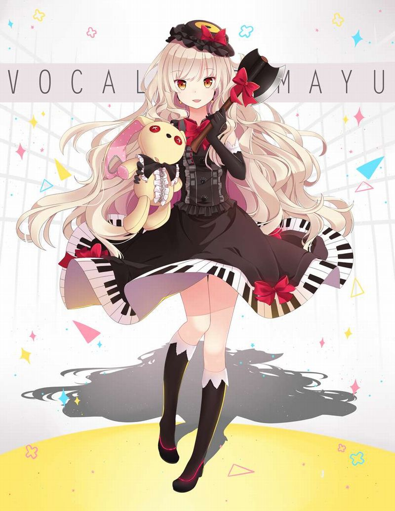 【VOCALOID】MAYU(まゆ)のエロ画像【45】