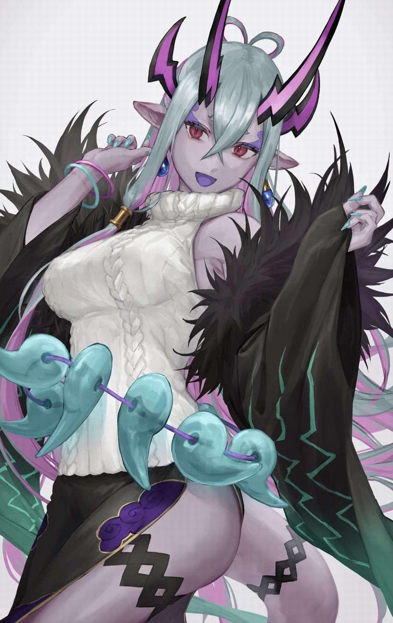 【Fate/GrandOrder】伊吹童子(いぶきどうじ)のエロ画像【34】