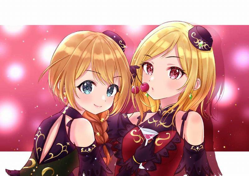 【くちびるにチェリー】サクランボ食べてる女子達の二次エロ画像【29】