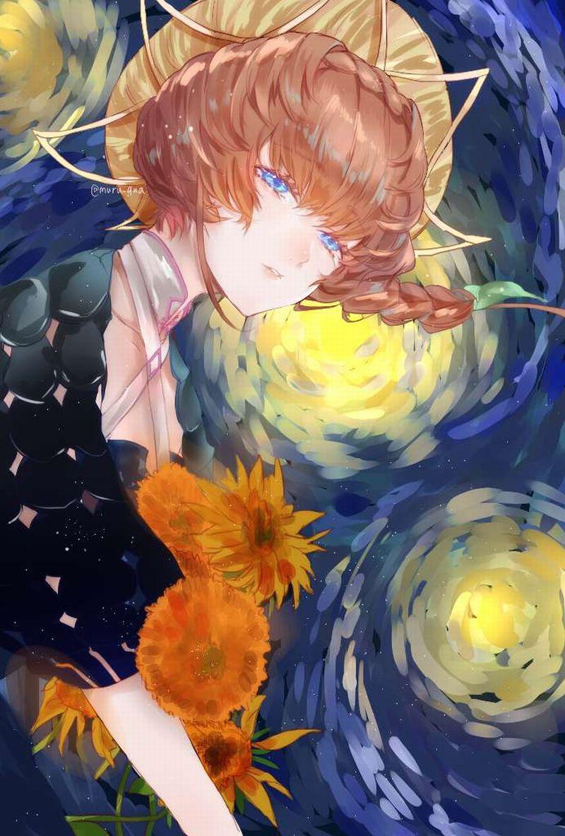 【Fate/GrandOrder】ヴァン・ゴッホ(Van Gogh)のエロ画像【39】