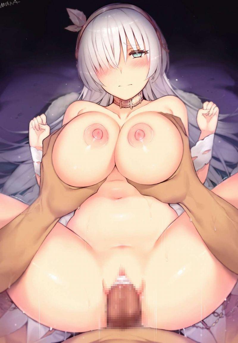【おっぱい派】正常位の時に手を両乳に置いてる二次エロ画像【12】