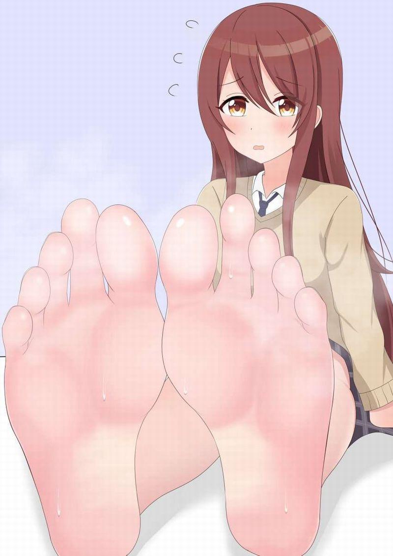 【くっせぇわ】足裏から湯気が出てる二次エロ画像【Ashi】【17】