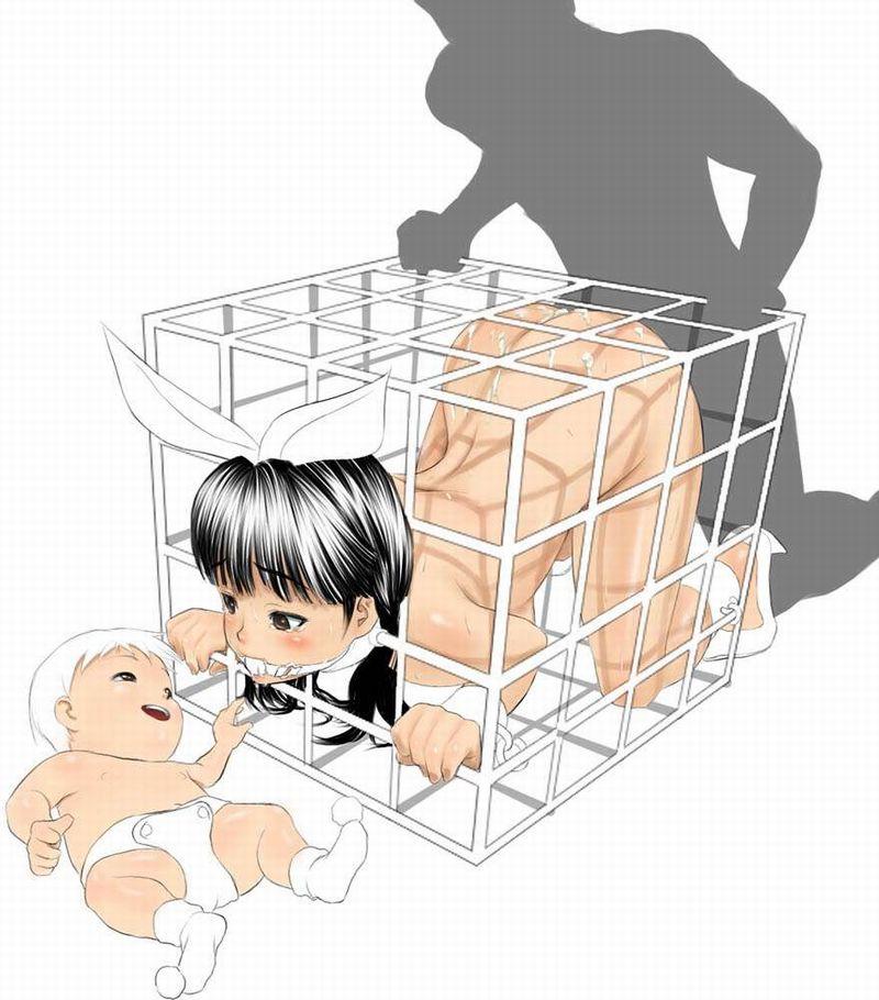 【昭和の日常】子供のすぐ側でセックスしてる二次エロ画像【令和の異常】【9】
