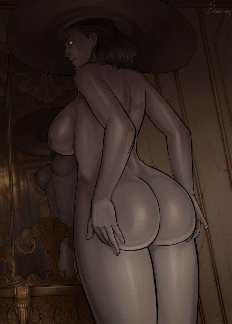 【バイオハザードヴィレッジ】オルチーナ・ドミトレスク(Alcina Dimitrescu)のエロ画像【28】