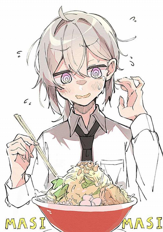 【ガッツリ】二郎系ラーメン食べてる女子の二次画像【12】