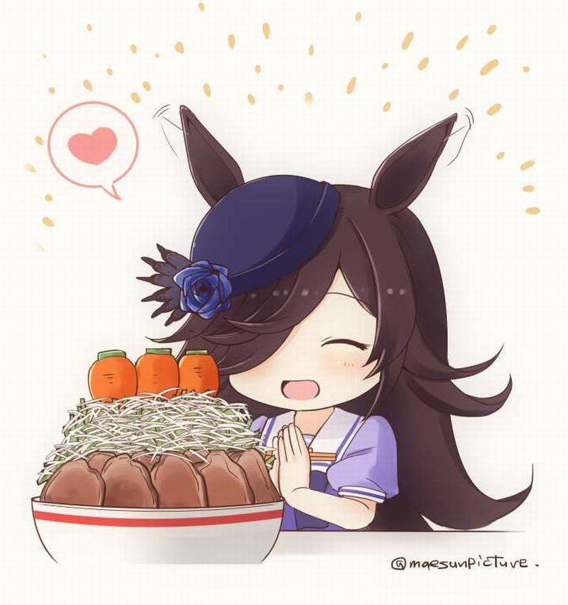 【ガッツリ】二郎系ラーメン食べてる女子の二次画像【22】
