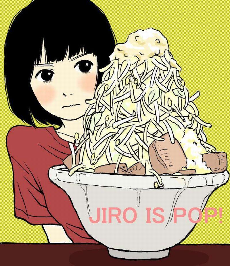 【ガッツリ】二郎系ラーメン食べてる女子の二次画像【25】
