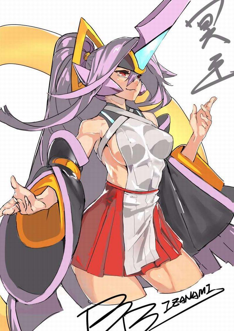 【BLAZBLUE】冥王イザナミ(帝)のエロ画像【ブレイブルー】【35】