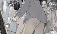 【さっきまで履いてた】自分のパンツを口に押し込まれてレイプされる二次エロ画像