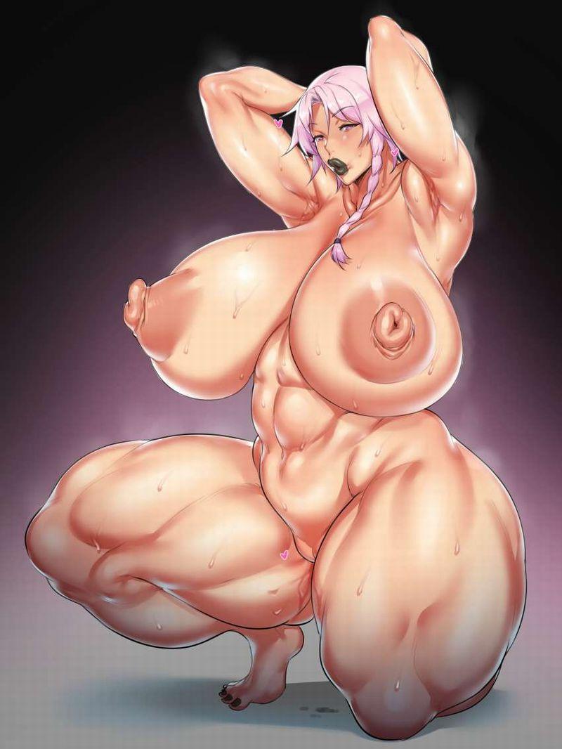 【絶対臭い】筋肉女子の腋の下を愛でる二次エロ画像【28】
