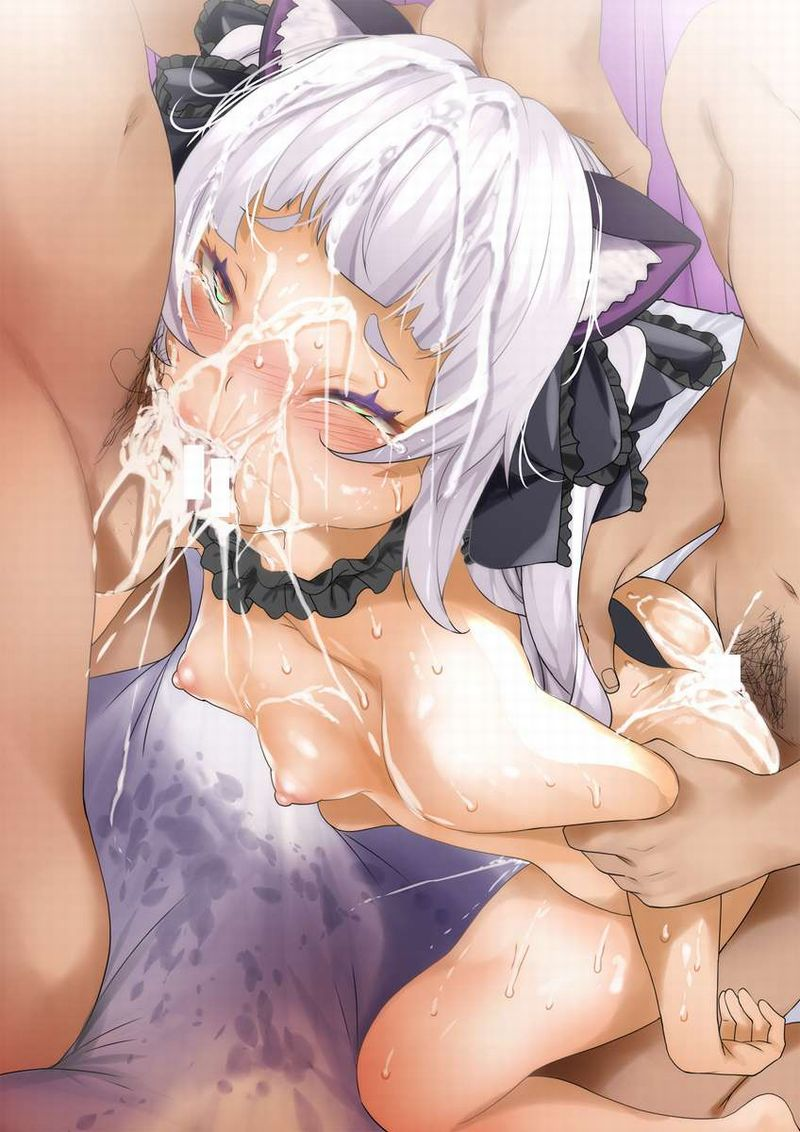 【大忙し】口とマンコを同時にレイプされてる二次エロ画像【19】