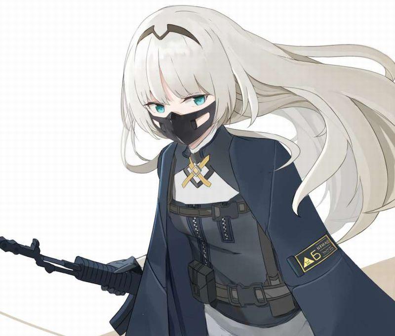 【夏は辛い】黒マスクを着けた女子のエロ画像【21】