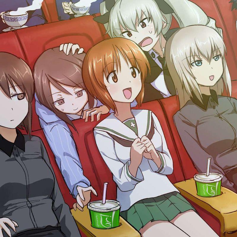 【ポップコーンとコーラもね】映画館と美少女の二次画像【9】