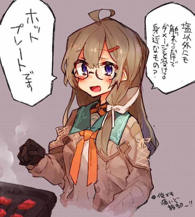 【焼肉焼いても】焼肉を堪能する女子の二次画像【家焼くな】【27】