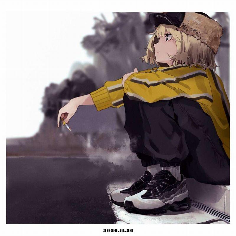 【メッセージ性が強い】NIKE(ナイキ)のスニーカー履いた女子の二次画像【22】
