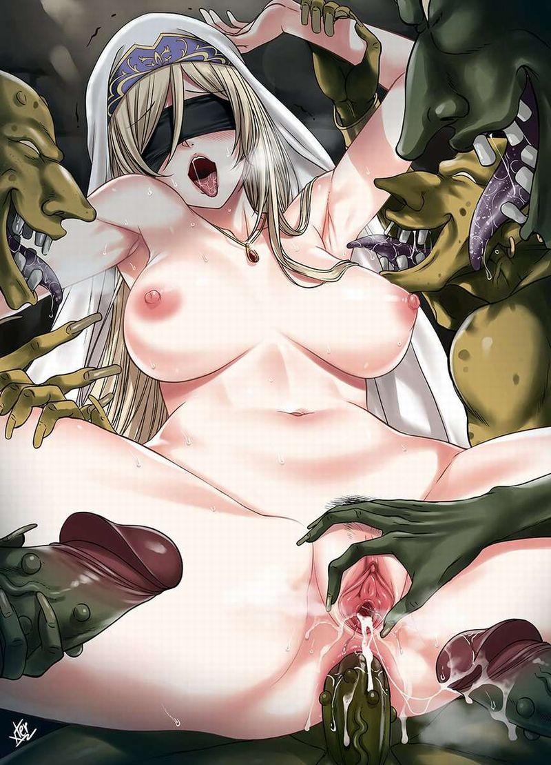 【ゴブリンスレイヤー】剣の乙女(Sword Maiden)のエロ画像【49】
