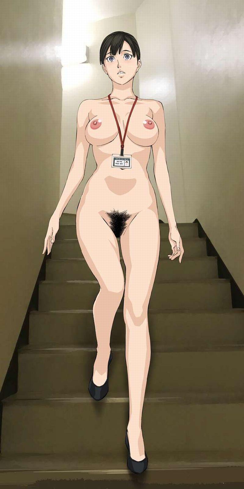 【裸ローンの思い出】身分証提示して脱いでる女子の二次エロ画像【20】