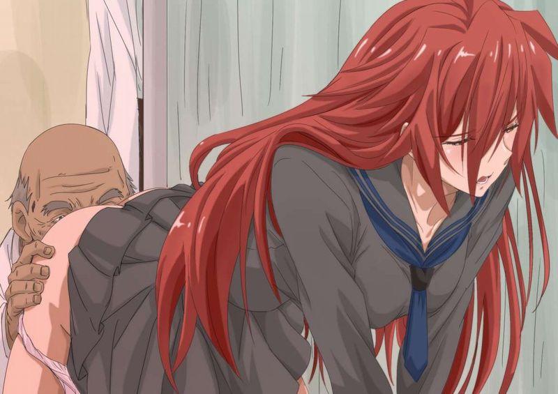 【キモ男クンニ】ハゲにマンコ舐められてる女子の二次エロ画像【18】