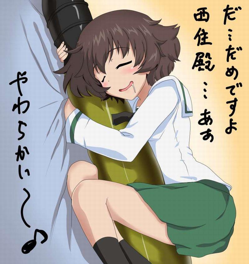 【擦り付けオナの可能性】抱き枕をギュってしてる女子の二次エロ画像【39】