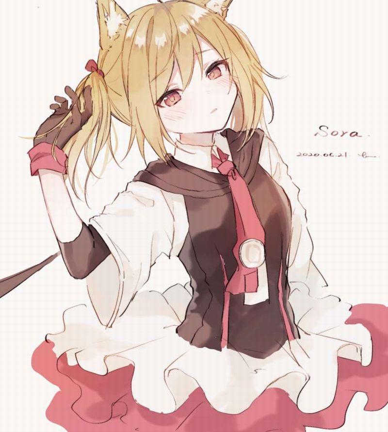 【アークナイツ】ソラ(Sora)のエロ画像【25】