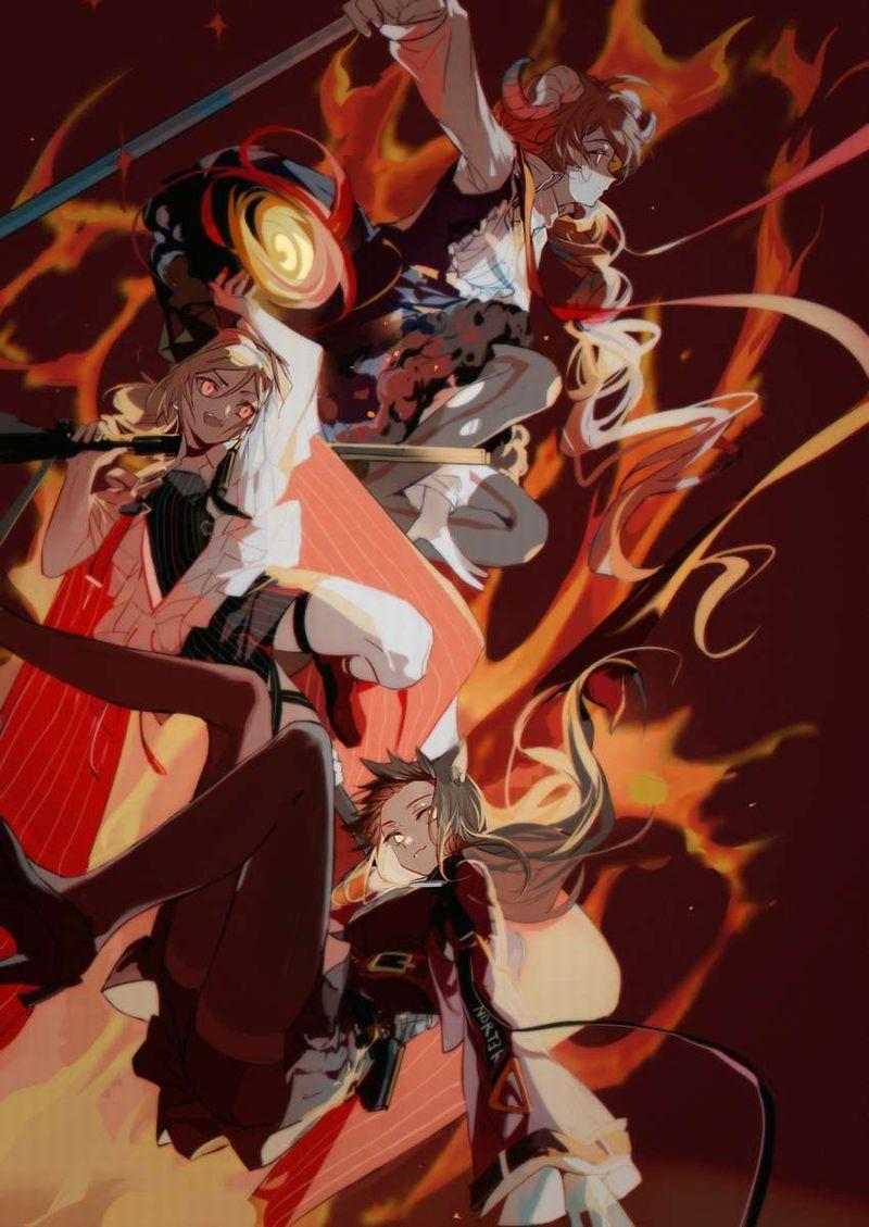 【アークナイツ】スカイフレア(Skyfire)のエロ画像【11】