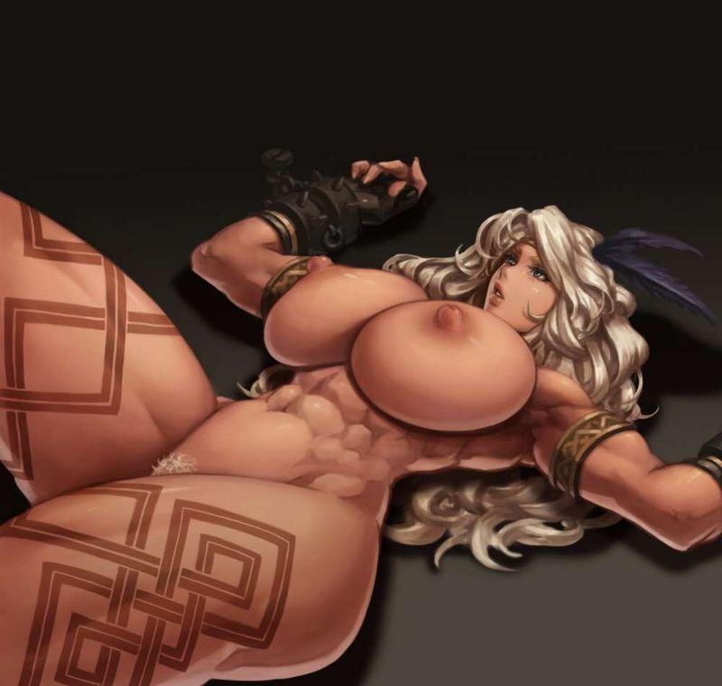 【ガチトライバル】民族の伝統でタトゥー入れてるぽい女子達の二次エロ画像【14】