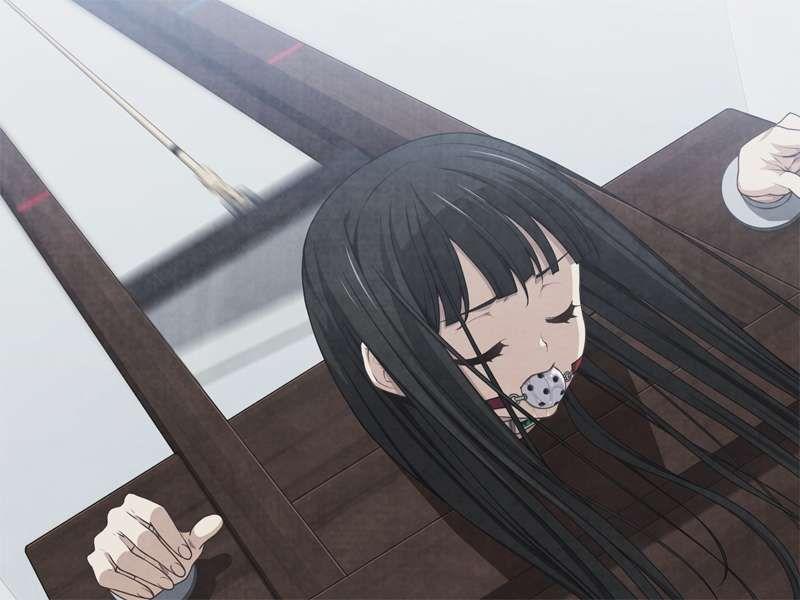 【処刑直前】ギロチン台に乗せられた女子の二次エロ画像【13】