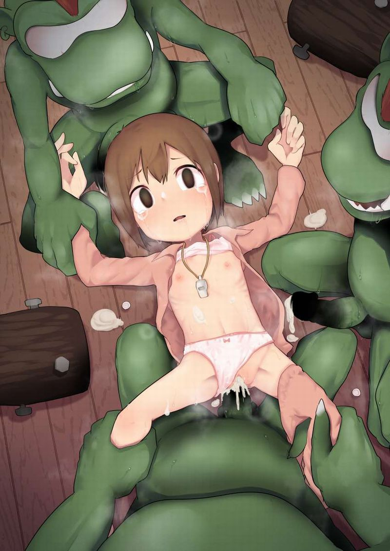 【壊れた玩具】虚ろな目でチンポ挿入される女子の二次エロ画像【10】