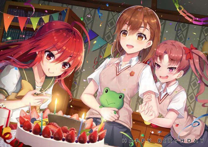 【HAPPY BIRTHDAY】ケーキと共にお誕生日を祝って貰ってる女子達の二次画像【2】