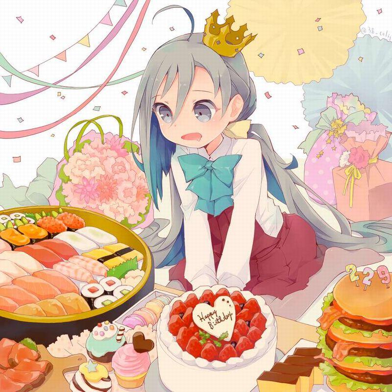 【HAPPY BIRTHDAY】ケーキと共にお誕生日を祝って貰ってる女子達の二次画像【5】
