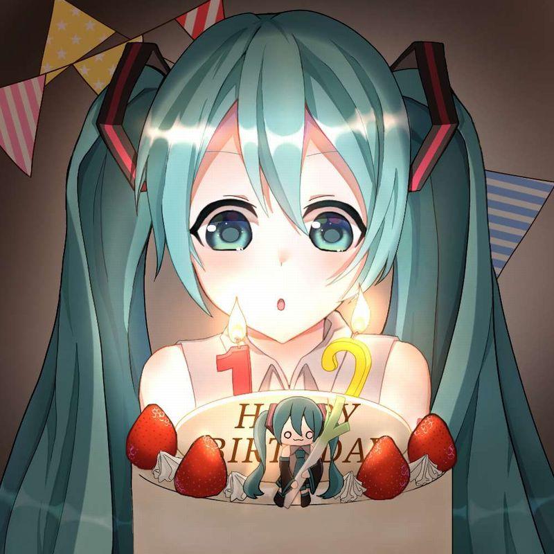 【HAPPY BIRTHDAY】ケーキと共にお誕生日を祝って貰ってる女子達の二次画像【9】