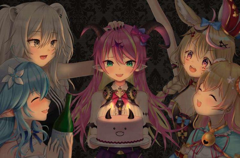 【HAPPY BIRTHDAY】ケーキと共にお誕生日を祝って貰ってる女子達の二次画像【14】
