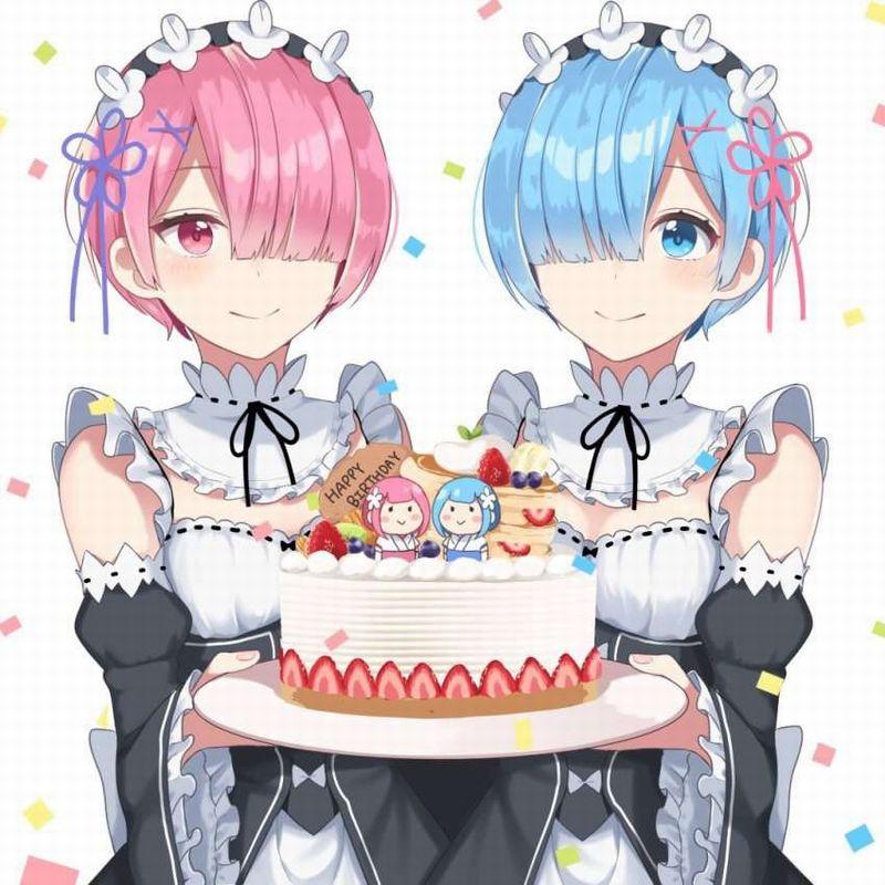 【HAPPY BIRTHDAY】ケーキと共にお誕生日を祝って貰ってる女子達の二次画像【17】