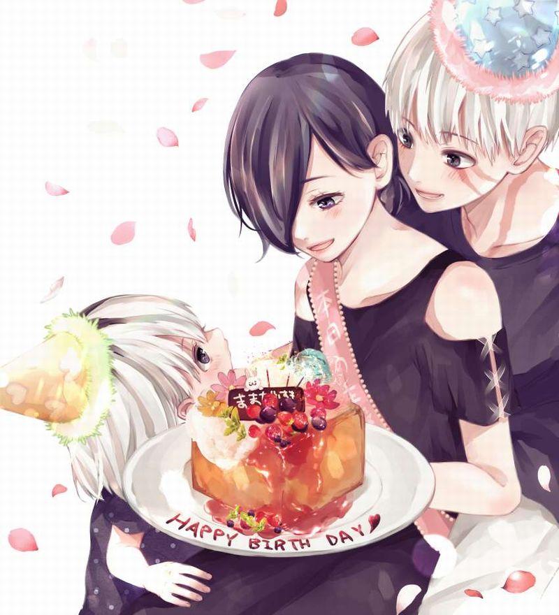 【HAPPY BIRTHDAY】ケーキと共にお誕生日を祝って貰ってる女子達の二次画像【33】