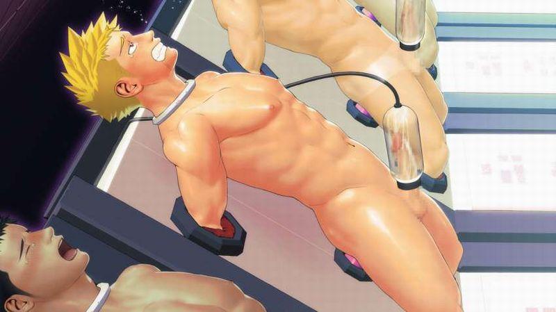 【 ( ・´つ・`)ふーん】チンコに搾乳機取り付けられてる二次エロ画像【16】