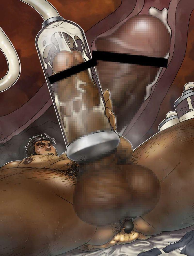 【 ( ・´つ・`)ふーん】チンコに搾乳機取り付けられてる二次エロ画像【24】