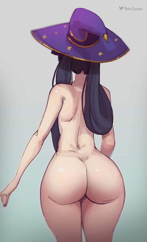 【熱射病対策】「全裸だけど帽子は被ってる」夏の露出狂達の二次エロ画像【35】