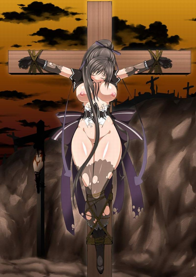 【アダム】十字架に貼り付けにされる女子の二次エロ画像【リリス】【7】